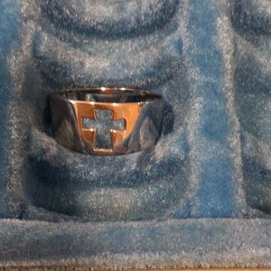 Premier Designs cross ring
